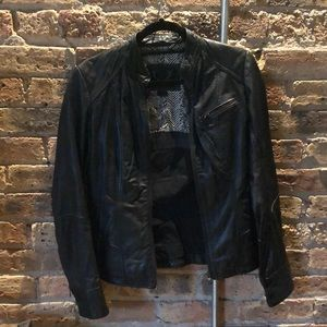 Bod & Christensen black leather jacket